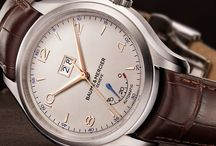 Baume & Mercier / One of the oldest watch makers in the world.  Classic, elegant, heirloom timepieces!