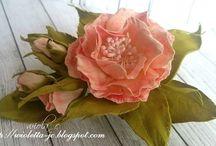 foamiran,kwiaty