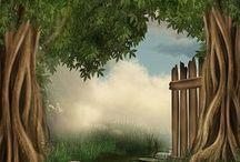 background prints