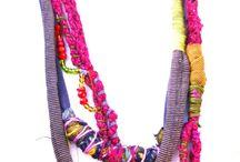 textile jevelry