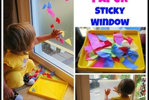Sensory stuff / Ideas for sensory play