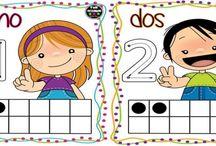 tarjetas para trabajar números del 1 al 10