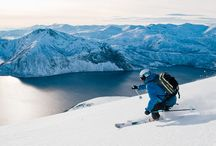 Ski in Northern Norway / All about skiing: up and down, cross-country and back country, ski and sail, spring skiing, northernmost skiing, fjord skiing etc etc.