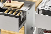 kitchen carts by joko domus Italy