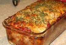 Parmesan pain de viande