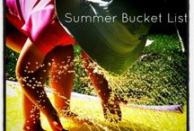 Activities: Summer Bucket Lists
