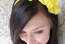 CREATE!(Hair Accessories) / Bows, flowers and hair accessories to make! / by Brittany Burton Wilkinson