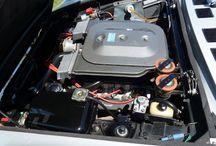 Fiat Dino Coupé 2400 motor