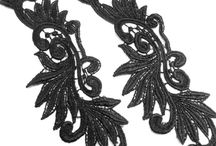 Dress Making Supplies - Lace Appliques and Trims