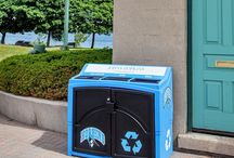 Recycling & Waste Containers / We have been designing high-quality, customized recycling and waste containers for over 30 years starting with the original curbside recycling bin in 1983. Here is our current product line with some interesting recycling facts.