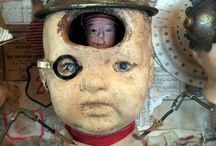 Doll Heads and Doll Body Parts
