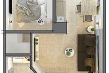 Kis lakás ,helykihasználás