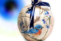 Handmade Ceramic Pomegranates