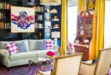 Colorful Rooms / Like color? Choose the right colors with a little help at www.TheColorConfidentHome.com