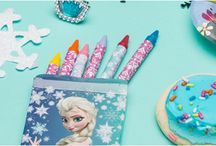 All Things Frozen / Party supplies and gifts that are totally worth melting for.