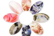 Spring wedding colours / A collection of details for this spring's wedding colour trends