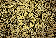 Arts & Crafts Movement / Textile designs and decorative arts of 1880-1930 that supports anti-industrialization and return to craft.