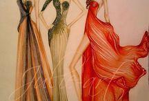 Fashion design ilistration