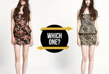 Which one? | Terranova looks for her / Express yourself and decide what you like! Choose your favourite look.
