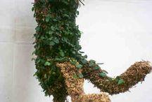 Sculpture plants