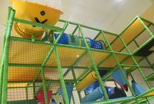 Church Playground Equipment / The greatest outreach opportunity a children's ministry has is an indoor playground.  Check out all of these great designs Worlds of Wow! has created for churches.