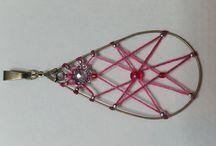 Bijoux tissés - Créations perso / Bijoux artisanaux alliant métal, perles et tissage.