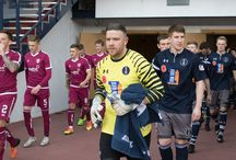 Arbroath 11 Nov 17 / Pictures from the Ladbrokes league One game between Queen's Park and Arbroath. Match played at Hampden Park on Saturday 11 November 2017. Arbroath won the game 2-0.