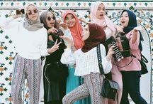 Hijabs fashion
