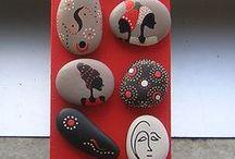 Ζωγραφική σε πέτρες-5