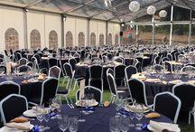 Bodas con Catering Los Olivos / En estas imágenes les mostramos uno de los montajes realizados por el Catering Los Olivos para la boda de Sonia Y Roberto, en Geras (León), 375 invitados...en ocasiones anteriores hemos realizado banquetes de boda para 550 personas...