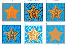 mosaic & decoupage