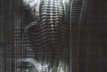 Giger Art / by llellsee Sex Toy Reviews