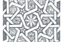 Muster - Patterns - Flächenfüllungen