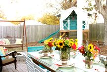 porches / by Gina @ Shabby Creek Cottage