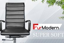 Office Chair - SUPER SOFT PU