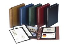 Postcard Albums / Albums, pages and sleeves for postcards, First Day Covers, and mint sheets.