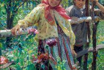 Русские художники. картины