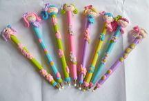 lápices porcelana en frio