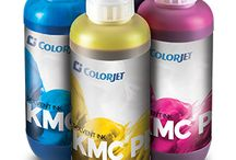 COLORJET INKS / Colorjet Inks work in tandem with print head technology to offer the best solution for profitable print business.