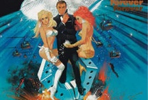 """007: DIAMONDS ARE FOREVER / 1971 James Bond film. Seventh in the series, and Sean Connery's swan song (until the """"unofficial"""" NEVER SAY NEVER AGAIN). / by Mark McGuire"""