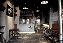 Interior Design for Restaurant/Bar  / by Alyssa Brandfass