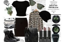 Polyvore Looks / Mixing and Matching