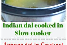 """*Slow Cooker Recipes* / Indian cooking is all about SLOW COOKING. Dals, beans or meat, all are required to simmer for long hours in a """"handi"""" on low flame setting unless maximum flavor is achieved."""