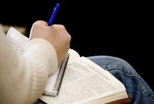 Estudos da Bíblia / Estude a Bíblia através de Esboços práticos junto com os adolescentes.