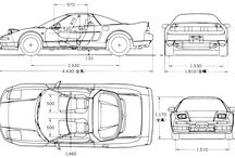 CAR 四面図
