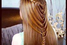 düz saç modelleri