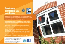 Summer 2012 burglary campaign / Keep your home secure and enjoy the summer. As the weather warms up Leicestershire Police is reminding residents to secure their windows and doors every time they leave their homes.