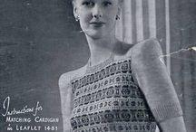 Vintage knitting / by Yulia Dakina