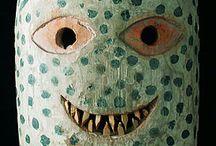 Masques et figurines