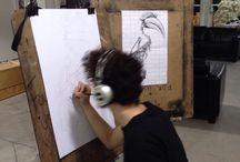 Drawing writing